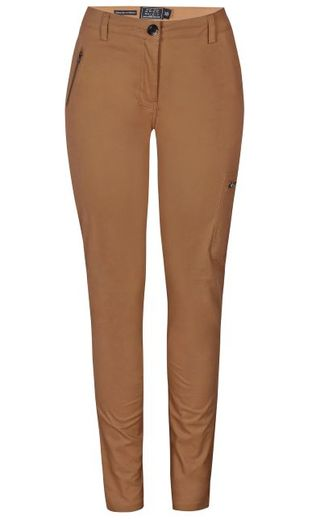 Sanne slim fit -housut, camel
